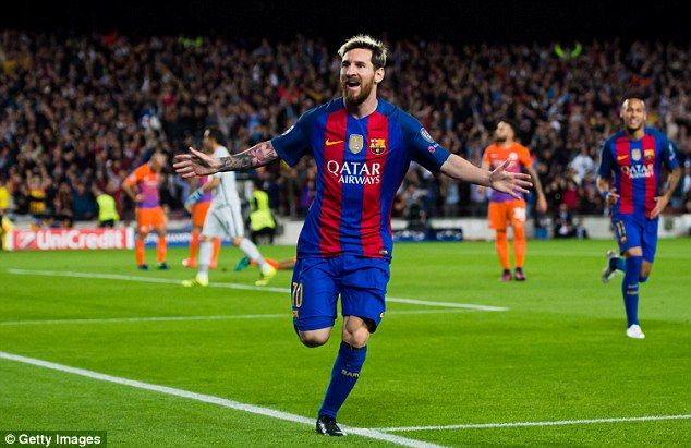 Lionel Messi and Barcelona take on Paris Saint-Germain over two legs in the last 16