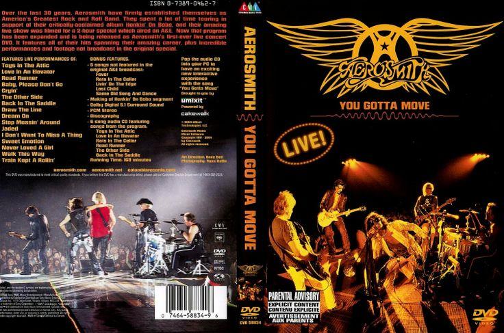 Full Concierto en DVD de Aerosmith You Gotta