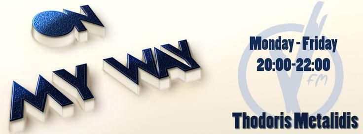 #OnMyWay #RadioShow #Thessaloniki #VFM911 #Music #Hits #Top40  www.911.gr