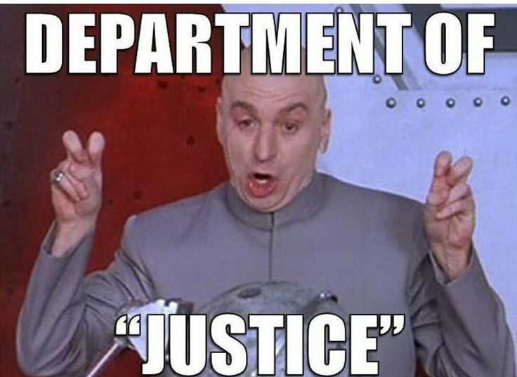No sorry it's not Department of Justice....It's the Department of Just Us, the rich, connected elite. The rest of us can go to hell.