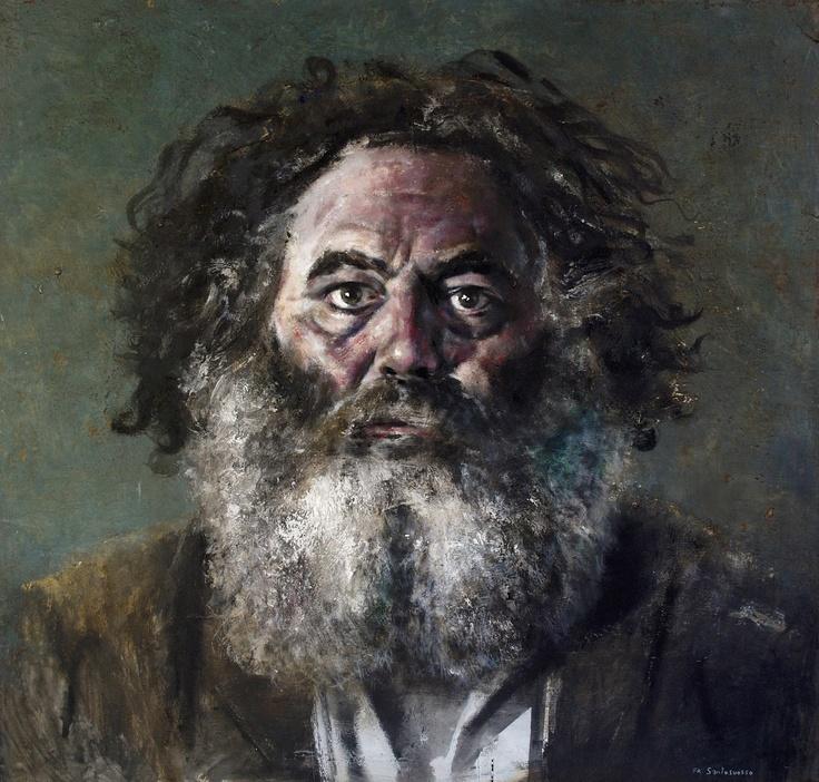 JEAN BLANCHAERT 3 -  ritratto dipinto da Francesco Santosuosso
