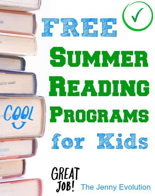 FREE Summer Reading Programs for Kids... Get those kids reading!