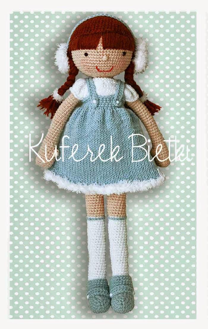 Kuferek Bietki: Viki2 - lalka na szydełku/ Viki2, Gehäkelte Puppe/Vik2i, the crocheted doll
