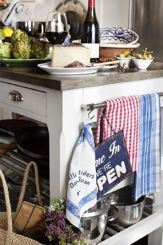 Bästa platsen i köket!