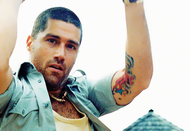 Are matthew fox tattoos real in lost