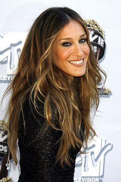 Sarah Jessica Parker, love the hair.
