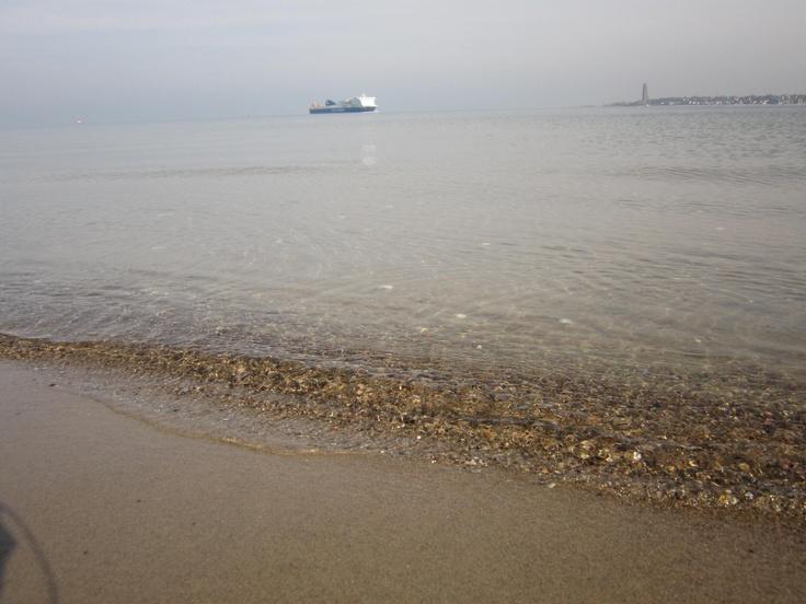 Wunderbares klares Wasser