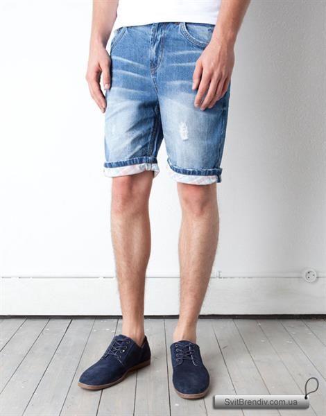 Мужские джинсывые шорты на заказ