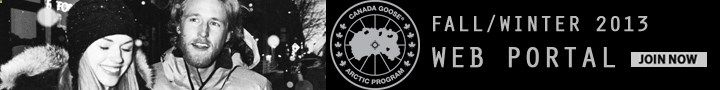 join the canada goose portal for inside access to your favourite winter brand!
