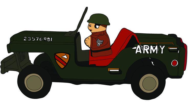 Toy car illustration