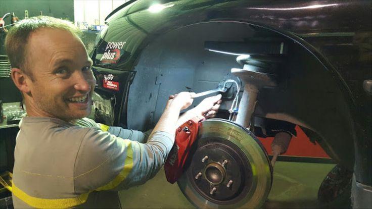 VE brake upgrade for Temora 1000