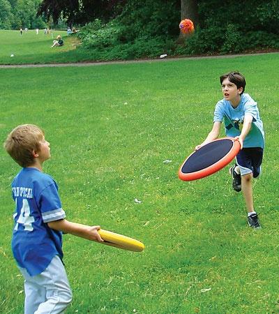 OgoSport® EVA Foam Sports Disks and Rubber Ball, Set of 2  #OnlineShopping  #OutdoorToys