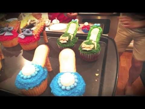 DIY - Fancy Open-toe Stiletto Cupcakes - YouTube
