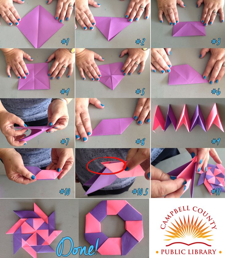 Easy Origami Ninja Star