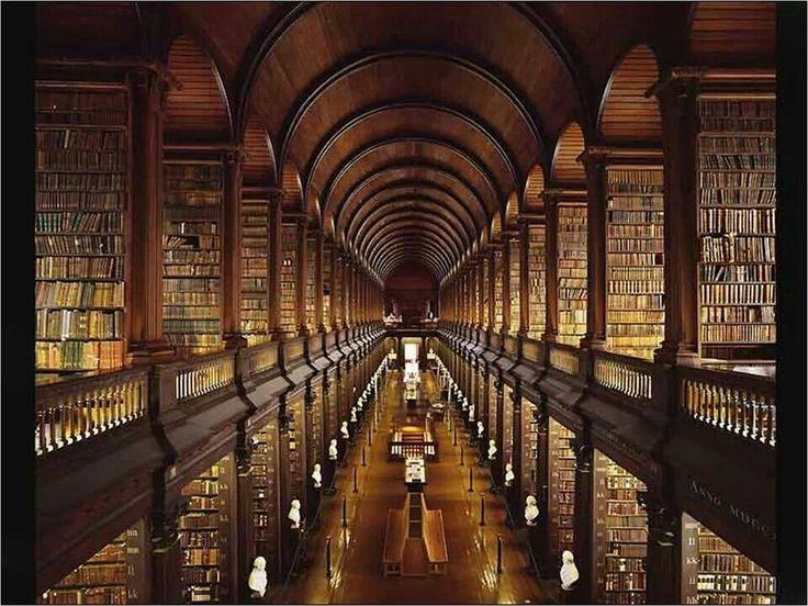 아일랜드 더블린 도서관