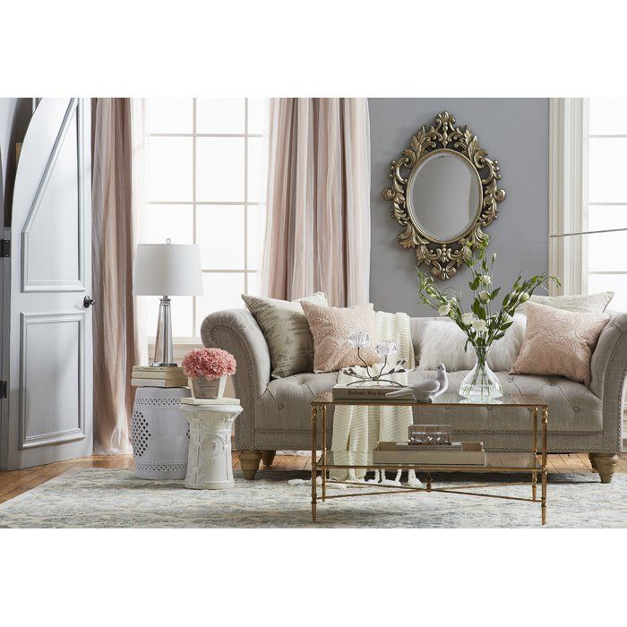 Versailles Chesterfield Sofa Living Room Designs Country Living Room Design Country Living Room #versailles #living #room #set