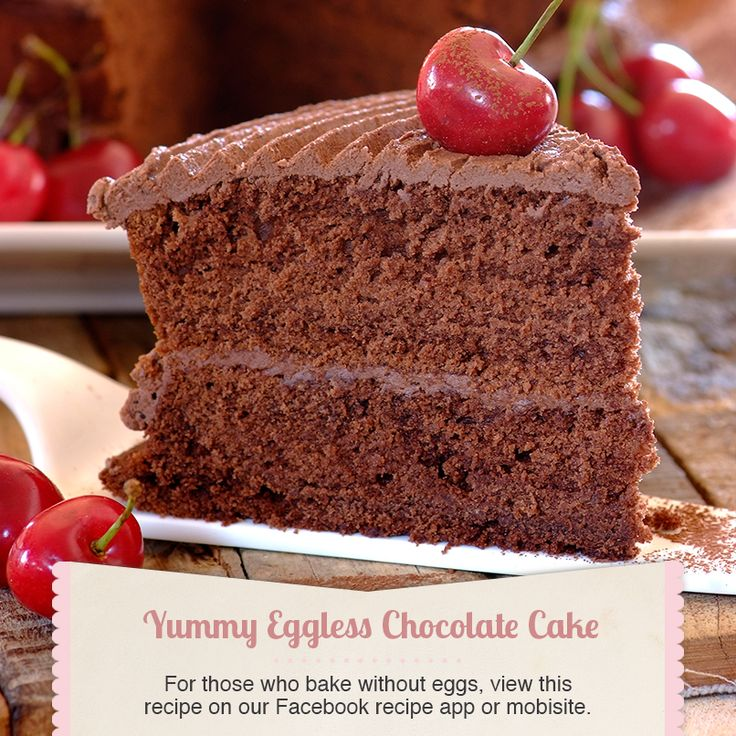 Eggless chocolate cake #recipe