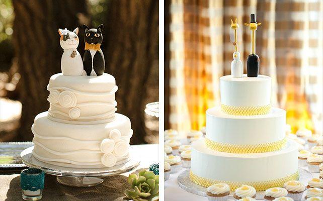 фигурки животных для свадебного торта