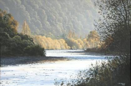 Hutt River entrance of Stokes Valley New Zealand