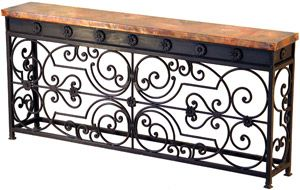 Gate Console Table - Cyber Monday Sale: 15% Off Furniture. Valid through 11:59PM PT #CyberMonday #sales #homeinteriors