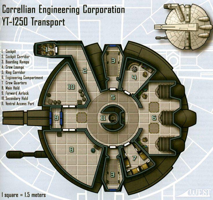 Star Wars Ship Floor Plans Part - 16: ... Starwars, Imperial Assault, Deck Plans, Cutaway. Latest (1024×960)