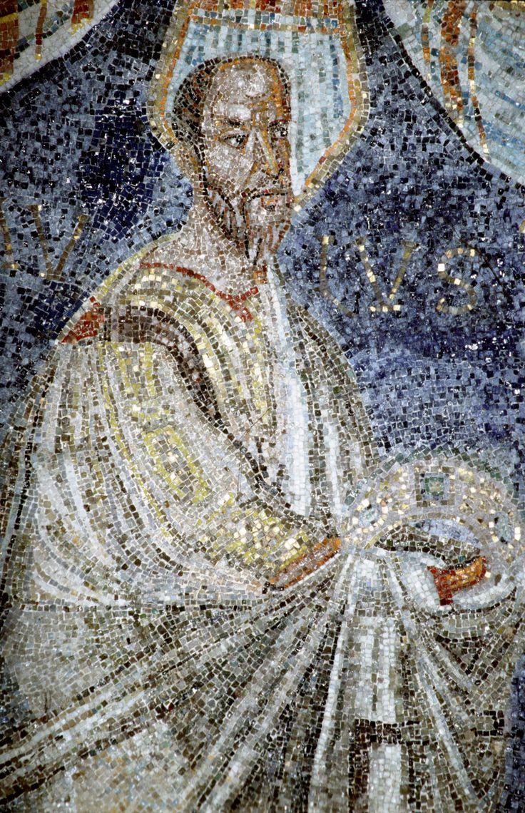 Battistero degli Ortodossi, Ravenna. I Mosaici del periodo del vescovo Neone. 450-475. SAN PAOLO