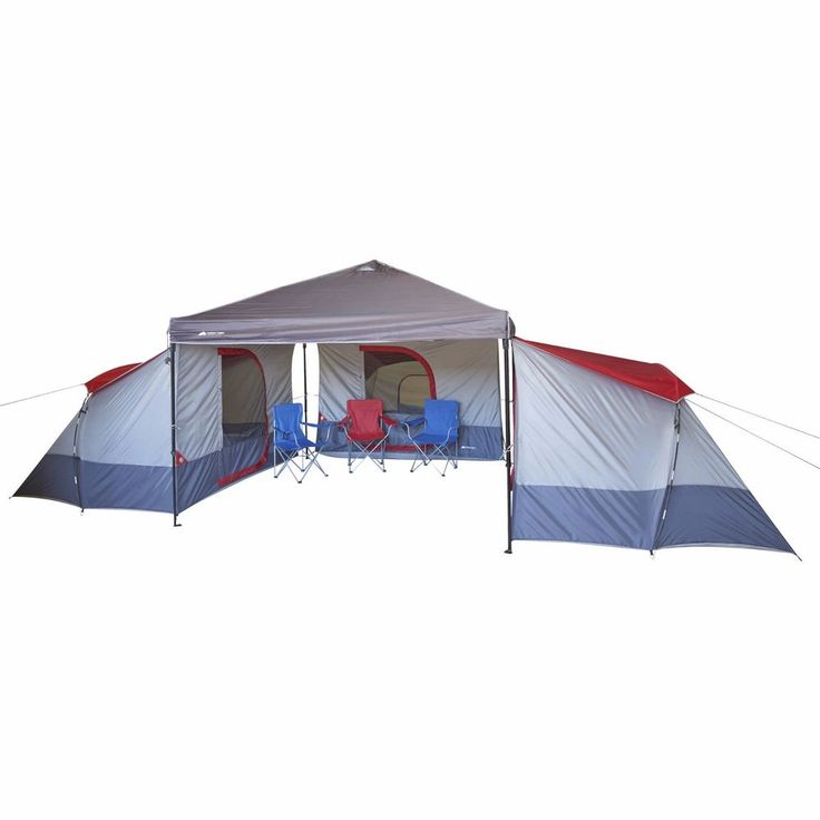 Ozark W634.1 Trail 4-Person 9' x 7' Connectent for Canopy Tents-Gray #OzarkTrail #CabinfamilyTents