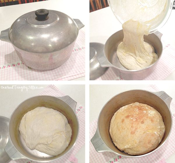 The World's Easiest Rustic Bread {No Kneading Required!}