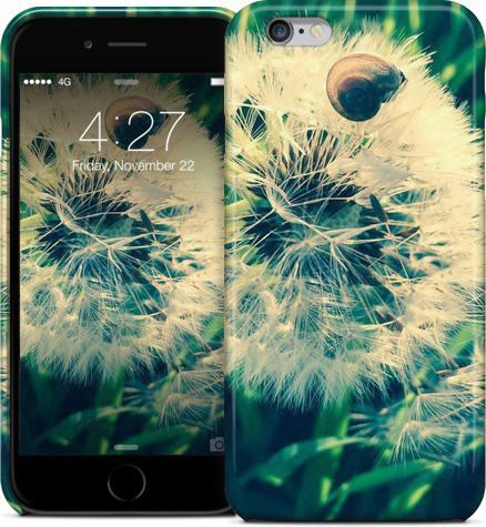 Snail On dandelion / Schnecke auf Pusteblume by Pictures for the wall - iPhone Cases & Skins - $35.00