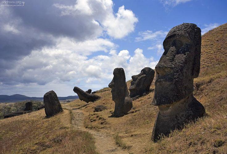 Чили: остров Пасхи   Chile: Easter Island   Andreev.org: Фотодневники путешествий
