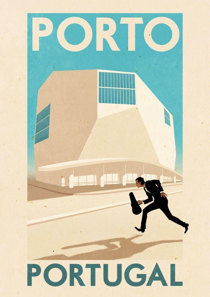 Portugal Travel PostersRui Ricardo