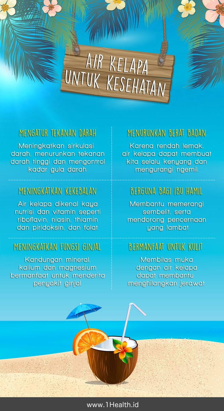 INFOGRAPHIC: Coconut water for your health