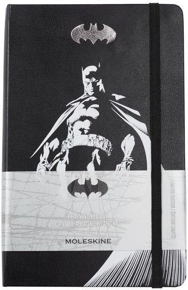 Moleskine Limited Edition Batman Plain Notebook affiliate