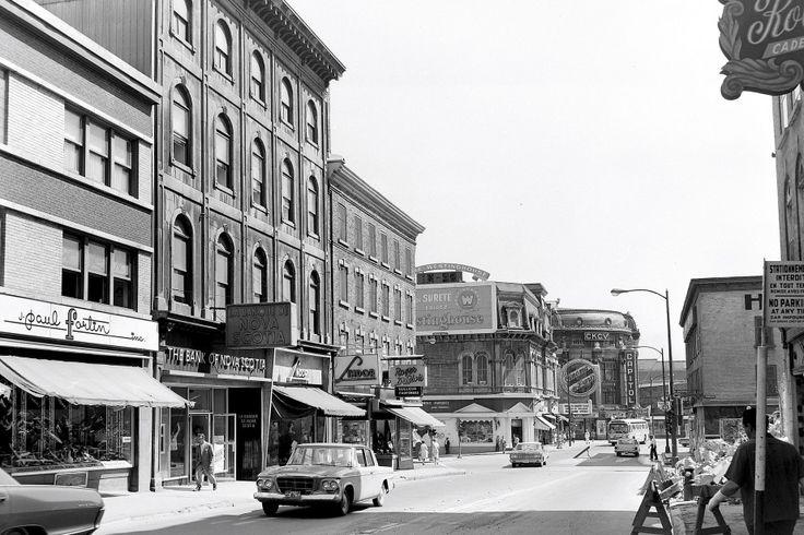Rue St-Jean le 22 juin 1965