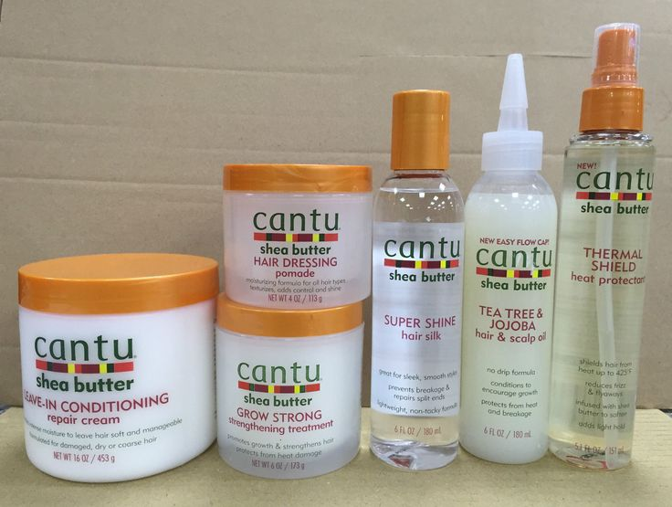 Cantu shea butter products for coarse hair