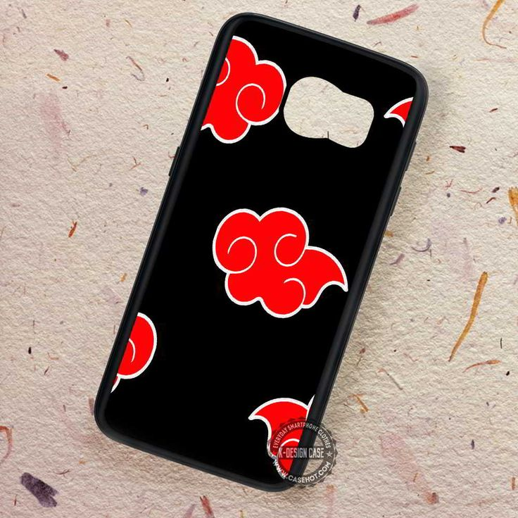 Akatsuki Cloak Red Cloud Naruto - Samsung Galaxy S7 S6 S5 Note 7 Cases & Covers