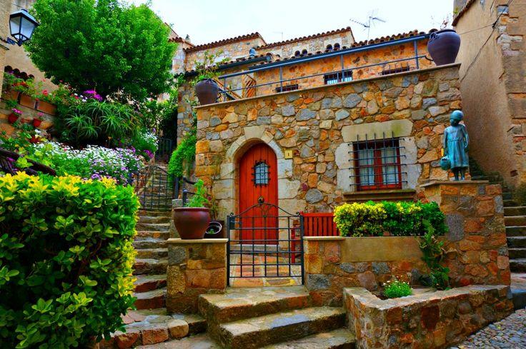 Tossa De Mar -a romantic seaside destination on the Costa Brava region of Spain.