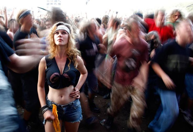 17th Woodstock Festival in Kostrzyn-upon-Odra River, Poland, on August 6, 2011. (Reuters/Pawel Kopczynski)