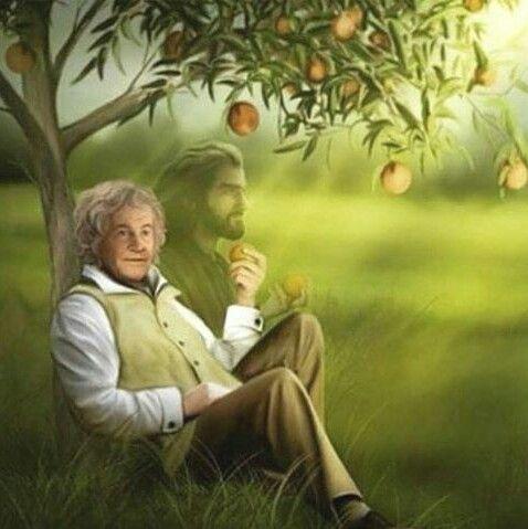 Bilbo and Thorin Scudodiquercia