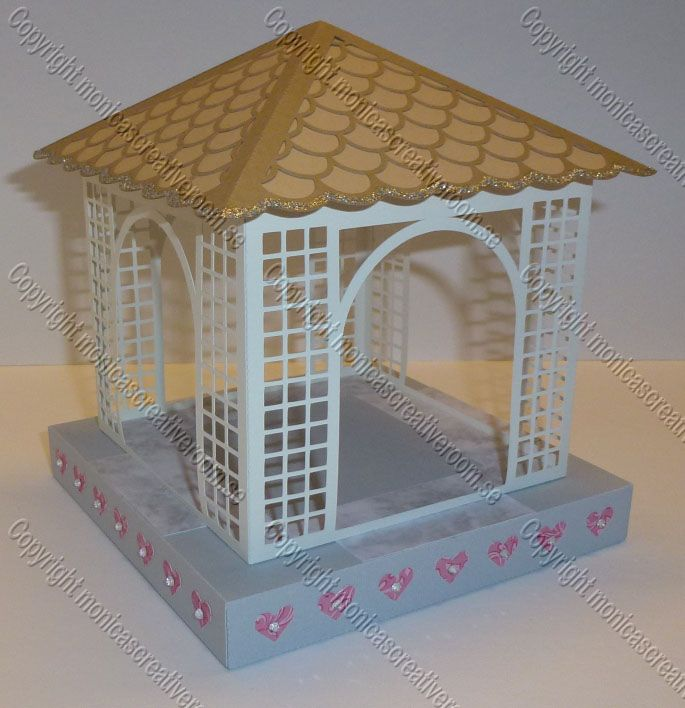 Gazebo 1 Paper Cutting Pinterest Models Studios And