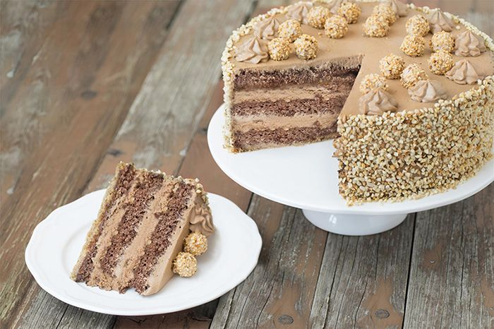 Giotto-Haselnuss-Torte