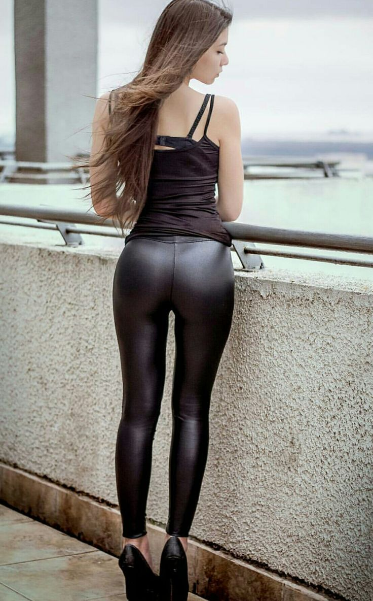 from Knox sexy leather legging babes