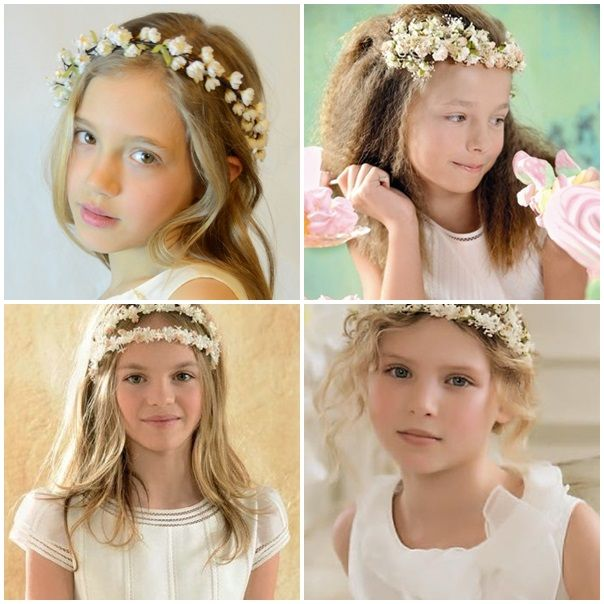 Coronas de flores de Comunión  f2aff2a249e