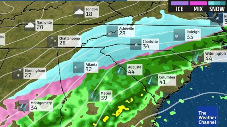 Meteorologist Ari Sarsalari looks at the forecast for Winter Storm Helena which will hit the southeast Friday into Saturday.