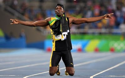 "Rio 2016 Best stories : Usain Bolt makes Olympic History with ""Triple-Triple"" 100m, 200m and 4 x 100m (Beijing 2008, London 2012 and Rio 2016) on Friday night, August 19th 2016. Congratulations to Usain Bolt!!! Congratulations to Usain Bolt!!  http://www.superprofesseur.com/306.html  #Rio2016 #Athletics #sportsmarketing #sports #ronaldtintin #olympicsports #ronningagainstcancer #brazil #dogood #congratulations #worldrecord #olympicrecord #JAM #goldmedal #beststories #olympicgames2016…"