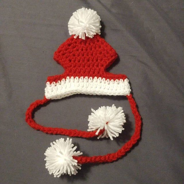 Knitting Patterns For Santa Claus Dog Hats For Christmas Knitting Patterns For Dogs Dog Sweater Pattern Crochet Dog Clothes