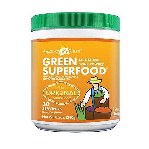 Amazing Grass® Green SuperFood® All Natural Drink Powder - Alkaline green plant foods balance acidic pH levels