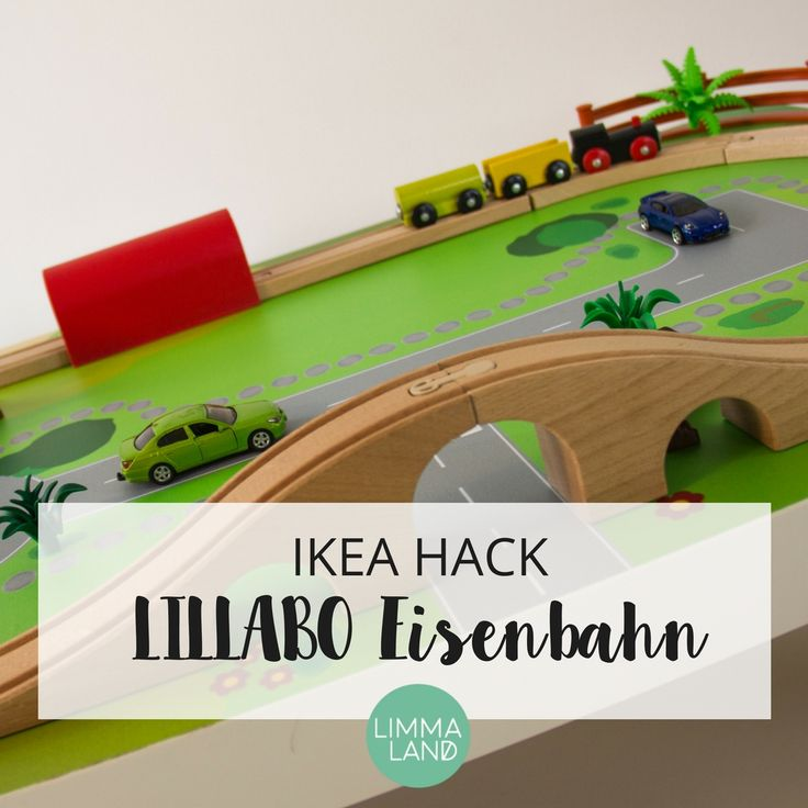 14 best ikea hack lillabo eisenbahn images on pinterest child room girl rooms and nursery ideas. Black Bedroom Furniture Sets. Home Design Ideas