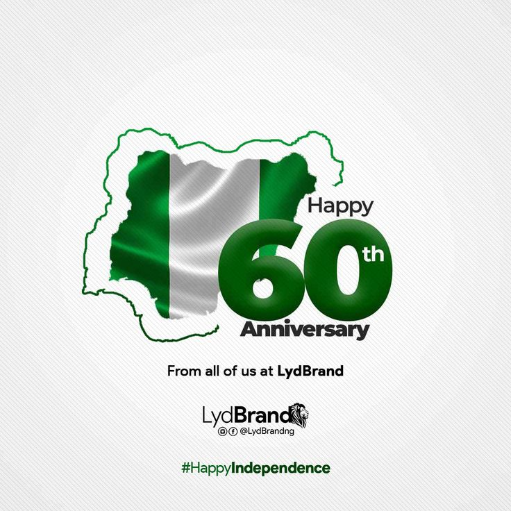 Happy Independence Nigeria Poster Background Design Creative Poster Design Creative Posters
