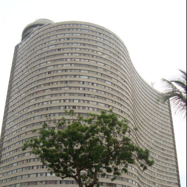 John Ross House, Durban - South Africa (The Roma Revolving Restaurant just visible on left)